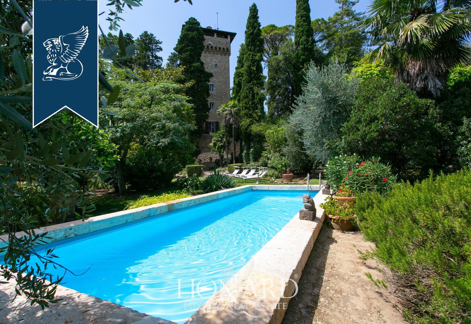 Castle in Cetona, Tuscany, Italy 1