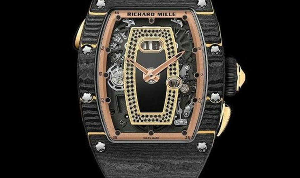 Richard Mille [NEW] RM 037 NTPT Yellow Gold Watch