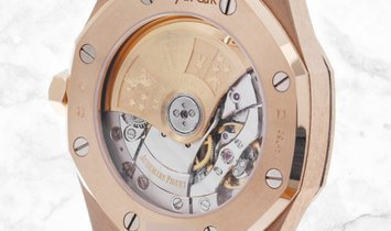 Audemars Piguet Royal Oak 15454OR.GG.1259OR.03 Frosted 18ct Pink Gold