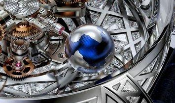 Jacob & Co. 捷克豹 [NEW] Astronomia Meteorite Triangle Diamonds AT800.30.HD.HD.A (Retail:HK$15,400,000)
