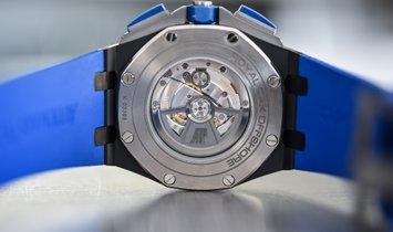 Audemars Piguet [NEW] Royal Oak Offshore Chronograph Blue Smoked Dials 26405CE