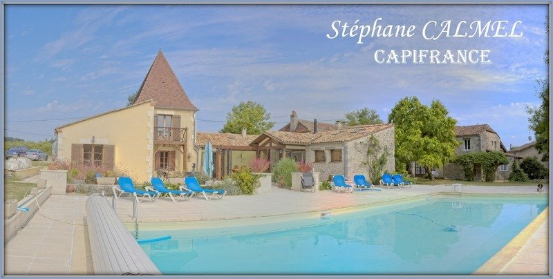 Farm Ranch in Saussignac, Nouvelle-Aquitaine, France 1