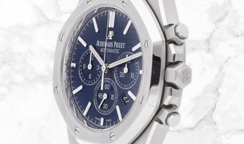 Audemars Piguet 26320ST.OO.1220ST.03 Royal Oak Chronograph Stainless Steel Blue Dial