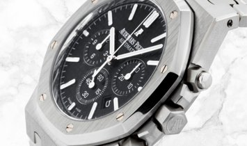 Audemars Piguet 26320ST.OO.1220ST.01 Royal Oak Chronograph Stainless Steel Black Dial