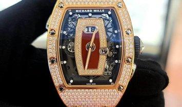 RICHARD MILLE RM 037 GEM-SET NTPT LADIES WATCH
