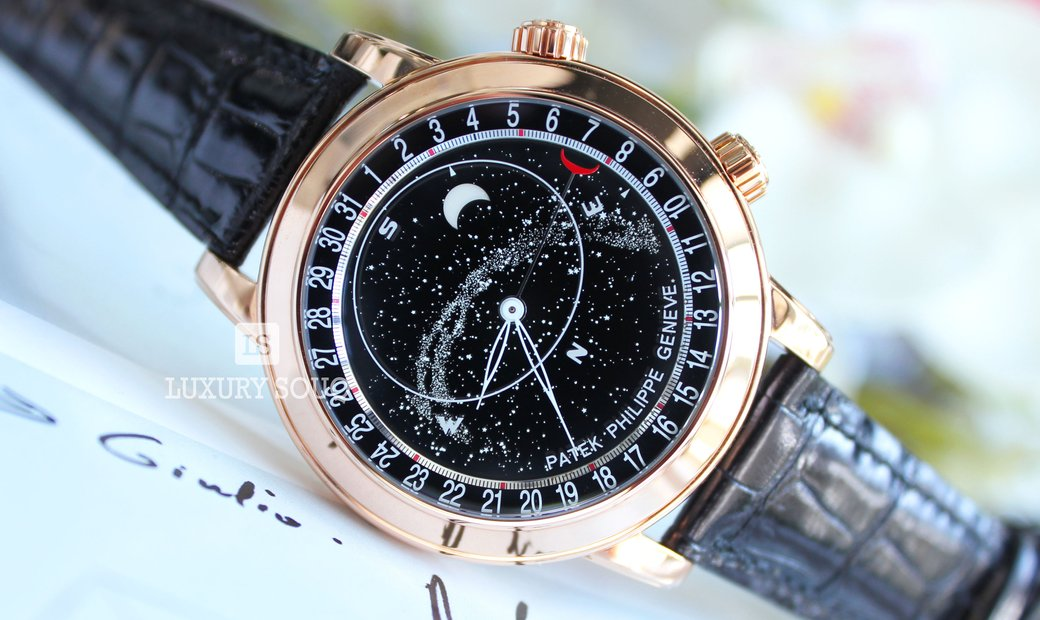 PATEK PHILIPPE GRAND COMPLICATIONS ROSE GOLD CELESTIAL WATCH Ref. 6102R-001