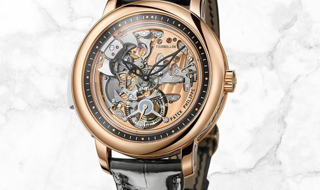 Patek Philippe Grand Complications 5303R-001 Minute Repeater Tourbillon Rose Gold Skeleton Dial