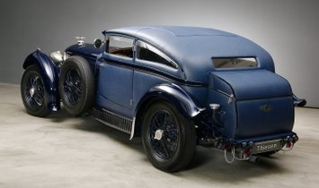Speed Six Blue Train Recreation by Racing Green