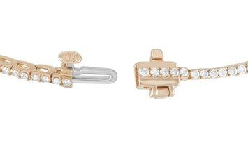 LB Exclusive LB Exclusive 14K Yellow Gold 1.52 ct Diamond Tennis Bracelet