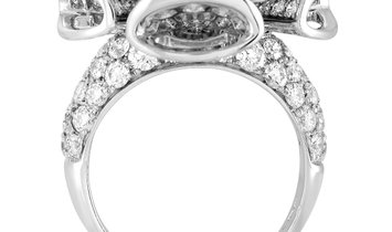Bvlgari Bvlgari Divas' Dream 18K White Gold 5.40 ct Diamond Ring