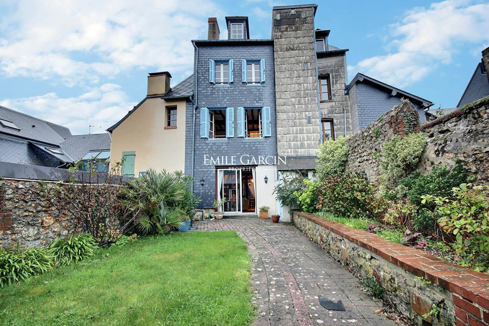 House in Honfleur, Normandy, France 1
