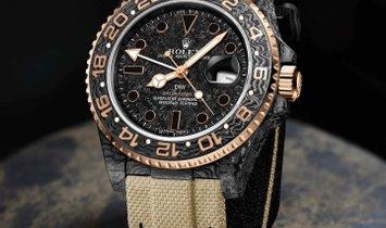 """Rolex DiW NTPT Carbon """"GMT Everose"""" (Retail:US$45,990)"""