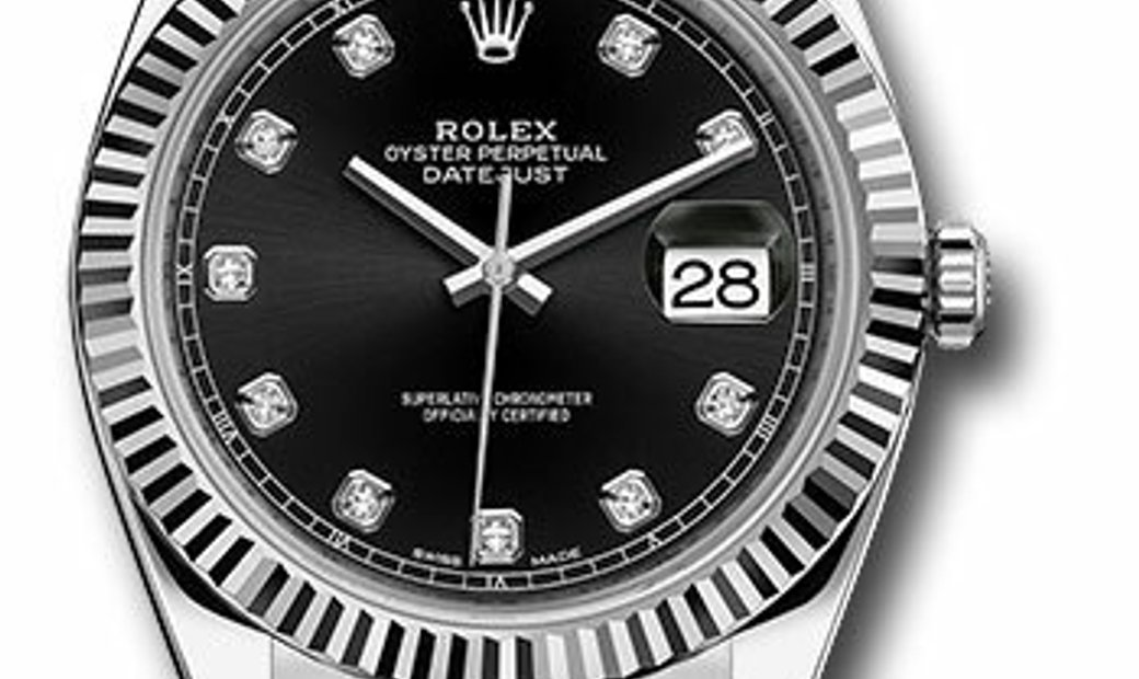 ROLEX OYSTER PERPETUAL DATEJUST REF 126334 BKDO