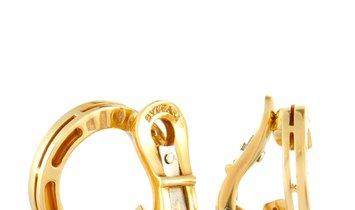 Bvlgari Bvlgari 18K Yellow Gold Earrings