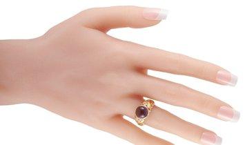 Bvlgari Bvlgari 18K Yellow Gold Amethyst Ring