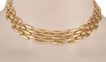 Cartier Cartier Panthère 18K Yellow Gold Link Necklace