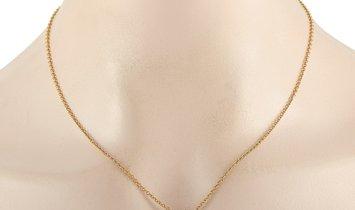 Van Cleef & Arpels Van Cleef & Arpels 18K Yellow Gold 0.50 ct Diamond Necklace