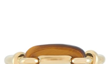Cartier Cartier Vintage 18K Yellow Gold Tiger's Eye Ring