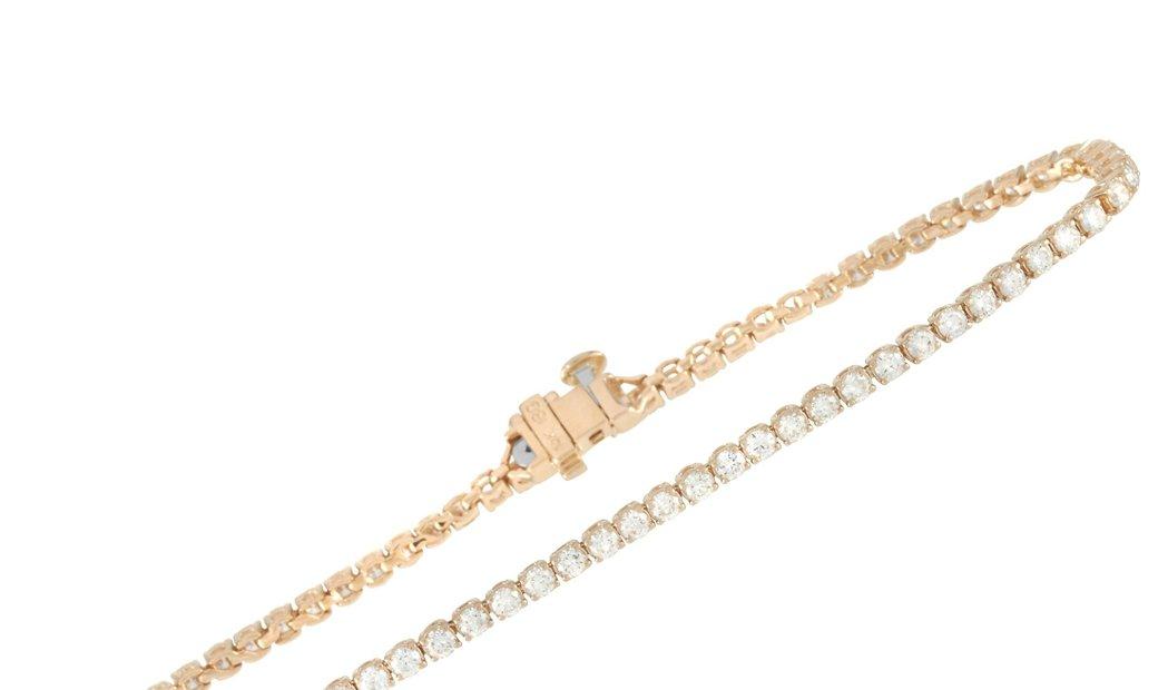 LB Exclusive LB Exclusive 14K Yellow Gold 2.40 ct Diamond Tennis Bracelet