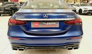 2021 Mercedes-Benz E 63 AMG