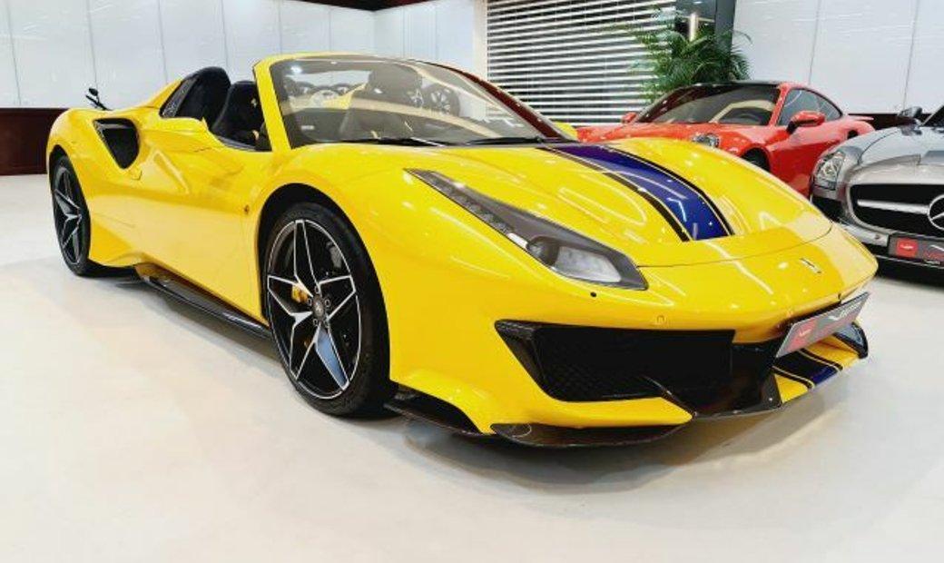 2021 Ferrari 488 Pista Spider In Dubai Dubai United Arab Emirates For Sale 11252036
