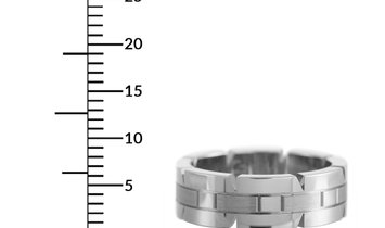 Cartier Cartier Panthère 18K White Gold Band Ring