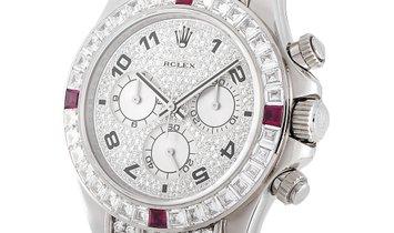 Rolex Rolex Cosmograph Daytona Diamond and Ruby Watch 116599