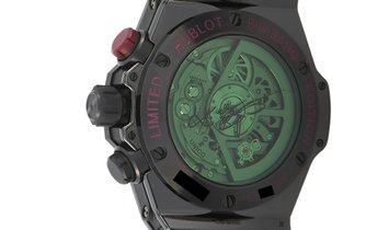 "Hublot Hublot Big Bang UNICO Chronograph Kobe ""Vino"" Bryant Watch 413.CX.4723.PR.KOB15"
