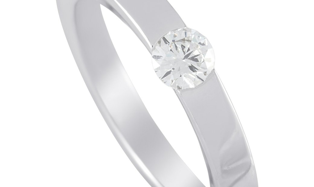 Cartier Cartier 18K White Gold 0.21 ct Diamond Ring