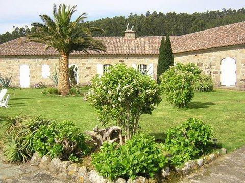 Castle in Corcubión, Galicia, Spain 1
