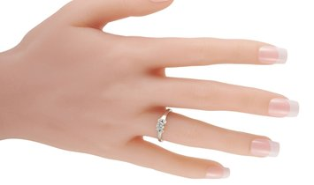 Cartier Cartier Platinum 0.33 ct Diamond Ring