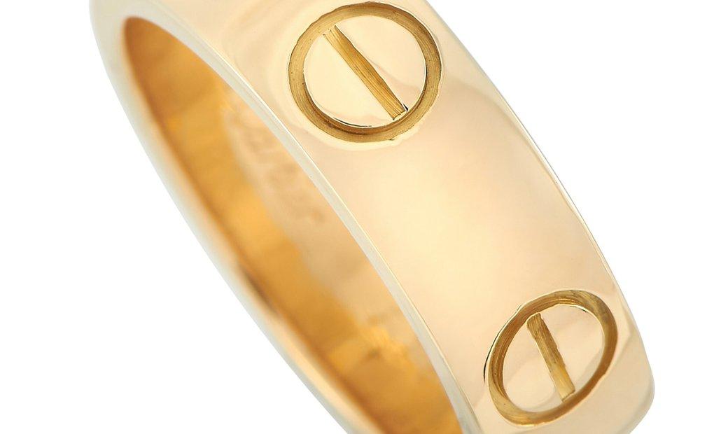 Cartier Cartier LOVE 18K Yellow Gold Band Ring