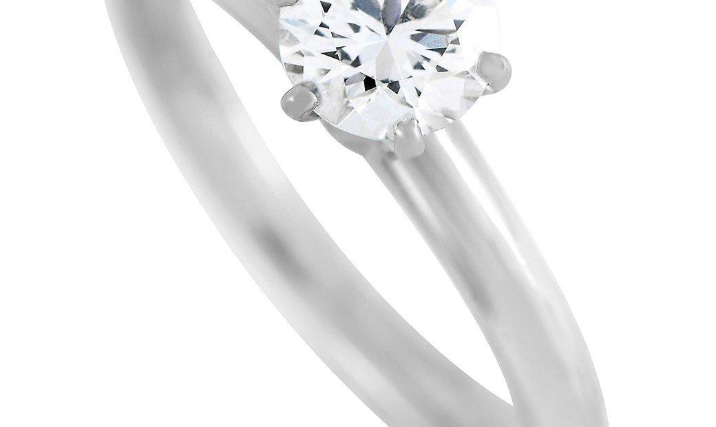 Tiffany & Co. Tiffany & Co. Platinum 0.47 ct Diamond Engagement Ring