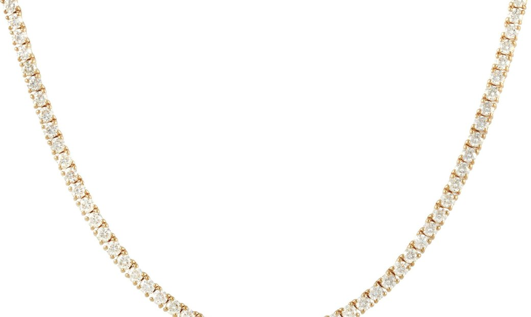 LB Exclusive LB Exclusive 18K Yellow Gold 15.69 ct Diamond Necklace