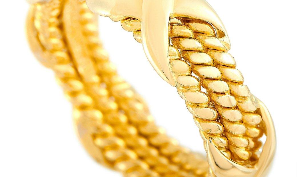 Tiffany & Co. Tiffany & Co. Schlumberger 18K Yellow Gold Ring