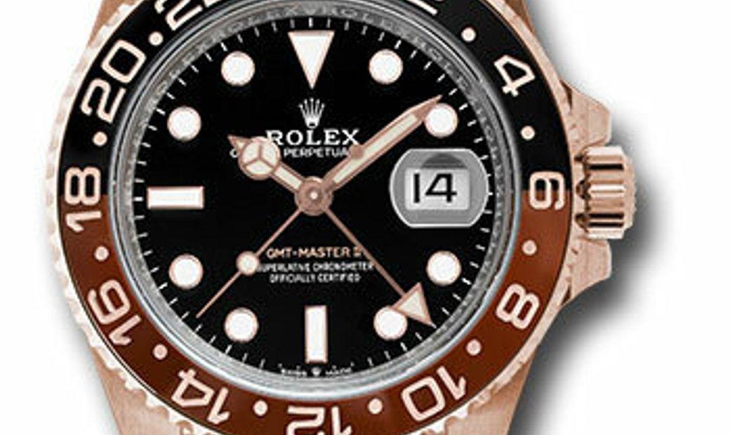 ROLEX GMT MASTER II ROOTBEER 126711CHNR