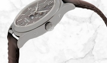 Patek Philippe Complications 5146G-010 Annual Calendar Moonphases White Gold Slate Grey Dial