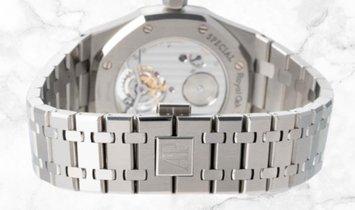 Audemars Piguet 26512ST.OO.1220ST.01 Royal Oak Tourbillon Stainless Steel Black Dial