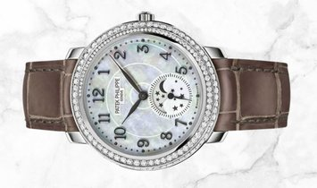 Patek Philippe Complications 4968G-010 Diamond Ribbon Joaillerie, Moon Phases