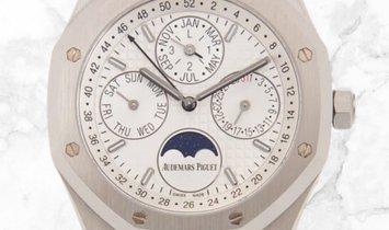Audemars Piguet 26574ST.OO.1220ST.01 Royal Oak Perpetual Calendar Stainless Steel Silver-Toned Dial