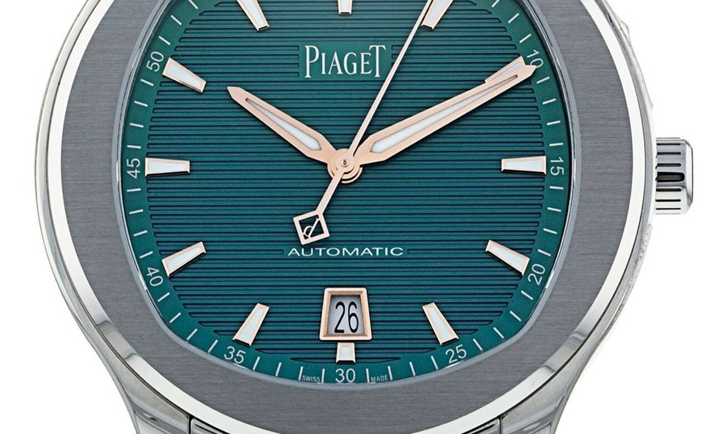 PIAGET POLO S AUTOMATIC GREEN PVD DIAL LIMITED EDITION G0A45005