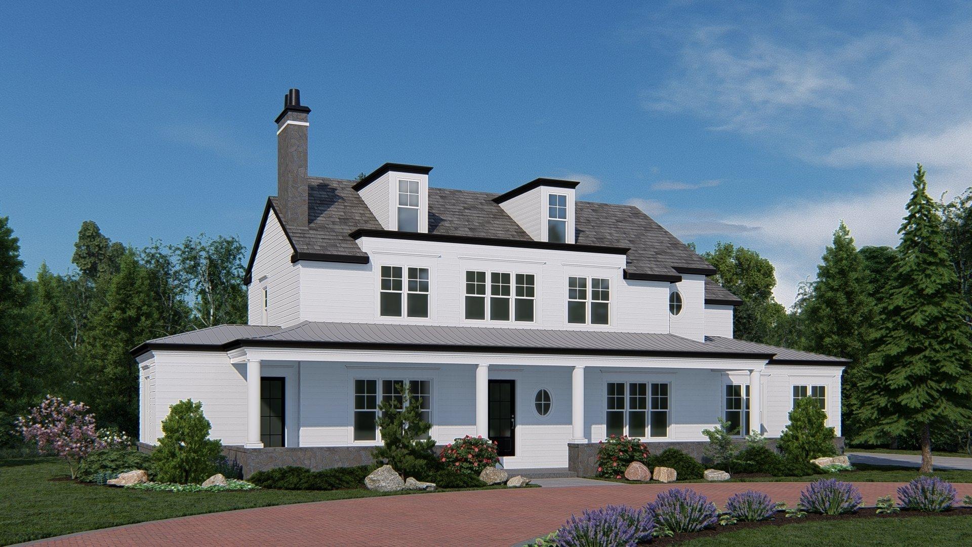House in Winnetka, Illinois, United States 1