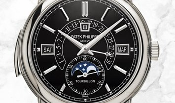 Patek Philippe Grand Complications 5316P-001 Minute Repeater Tourbillon Perpetual Calendar Platinum