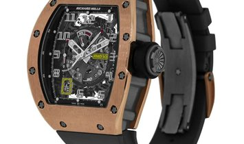 Richard Mille RM030 Titanium Rose Gold with Declutchable Rotor Watch RM030