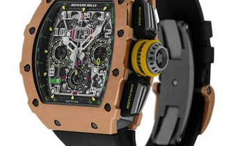 Richard Mille RM11-03 Rose Gold and Titanium Flyback Chronograph Watch RM11-03
