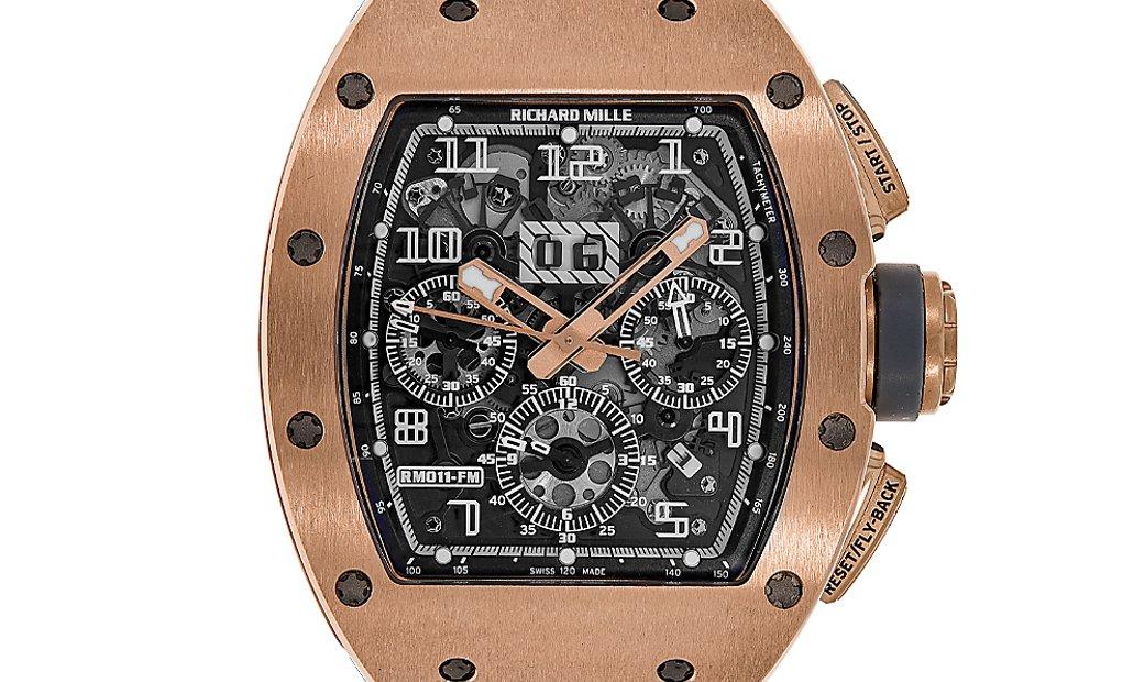 Richard Mille RM011 Felipe Massa Boutique Edition Rose Gold Watch RM011