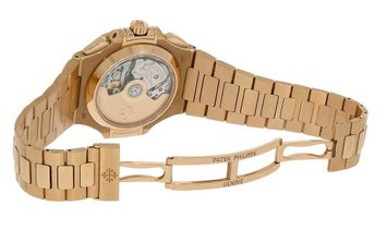 Patek Philippe Nautilus Rose Gold Chronograph Watch 5980/1R-001