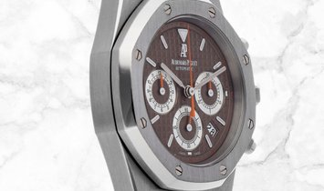 Audemars Piguet 26300ST.OO.1110ST.08 Royal Oak Chronograph Stainless Steel Brown Coloured Dial