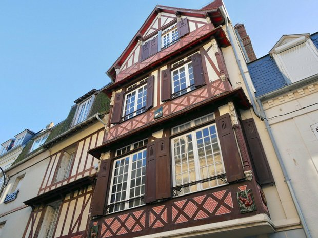 House in Trouville-sur-Mer, Normandy, France 1