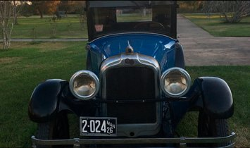1926 Pontiac New Series